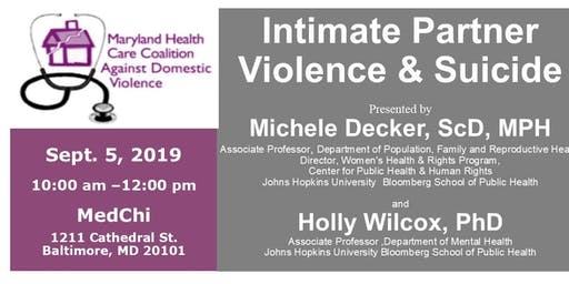 Intimate Partner Violence and Suicide