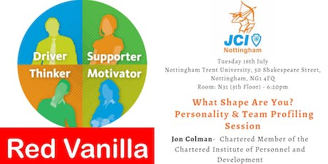 What Shape Are You? Personality & Team Profiling Session  tickets
