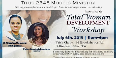Total Woman Development Workshop tickets