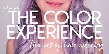 THE COLOR EXPERIENCEㅤ-ㅤColorimetria Criativa ㅤ ㅤ •ㅤ ㅤ por @dear_bella ingressos