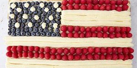 Technique Demonstration Class | 4th Of July Baking  tickets