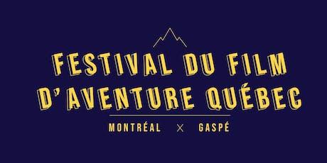 Festival du Film d'Aventure QC - MTL billets