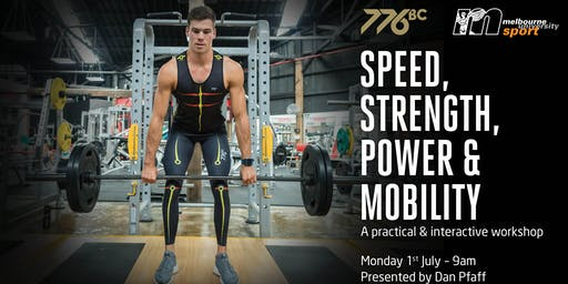 Speed, Strength, Power & Mobility with Dan Pfaff