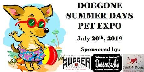 Doggone Summer Days Pet Expo tickets