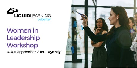 Women in Leadership Workshop - Sydney tickets