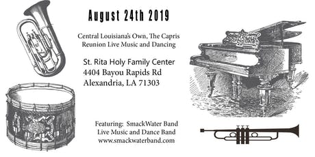 Central Louisiana's Own, The Capris Reunion Live Music and Dancing tickets