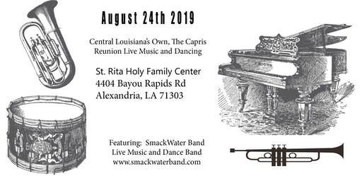 Central Louisiana's Own, The Capris Reunion Live Music and Dancing