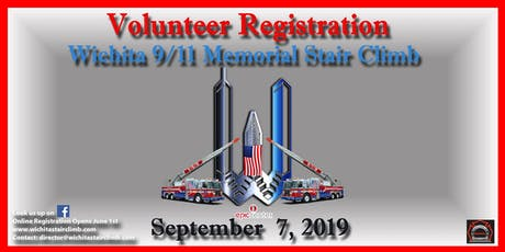 2019 Wichita 9/11 Memorial Stair Climb Volunteer Registration- THIS IS NOT FOR CLIMBERS!!- VOLUNTEERS ONLY tickets