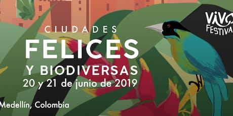 VIVO Festival: Ciudades Felices y Biodiversas entradas