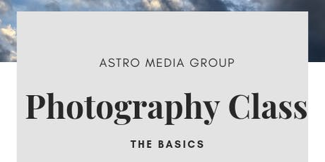 Photography Class: The Basics with Adjacent Tickets