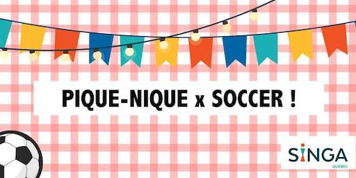 Pique-nique et soccer
