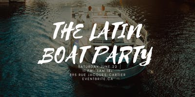 THE LATIN BOAT PARTY
