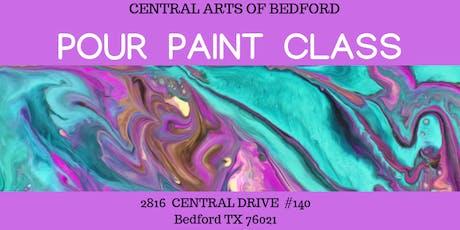 Pour Paint Class tickets