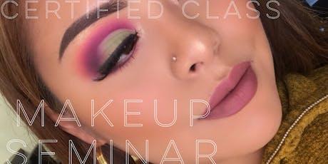 Certified Los Angeles Hands On Makeup Seminar  tickets