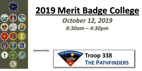 Scouts BSA Merit Badge College - Pittsburgh PA tickets