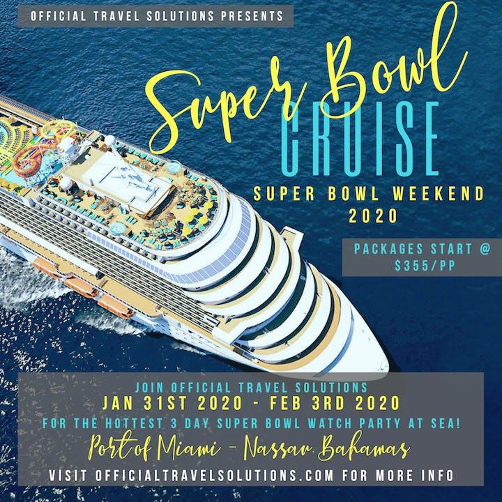 Super Bowl 2020 Schedule Of Events Super Bowl Cruise 2020 Tickets, Fri, Jan 31, 2020 at 4:00 PM