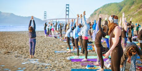Saturday Groove : Beach Yoga with Julianne! tickets