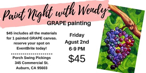 Paint Night with Wendy