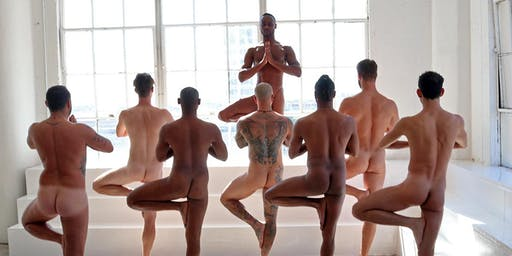 Naked Men's Yoga+Tantra San Francisco