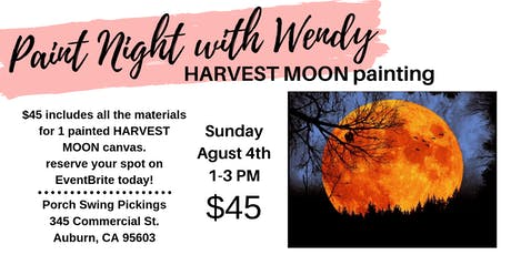Paint Night with Wendy tickets