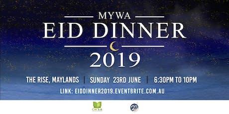 MYWA Annual Eid Dinner 2019 tickets