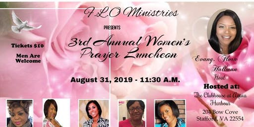 3rd Annual Women's Prayer Luncheon