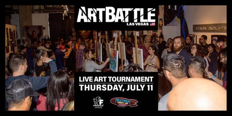 Art Battle Las Vegas - July 11, 2019 tickets