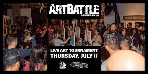 Art Battle Las Vegas - July 11, 2019