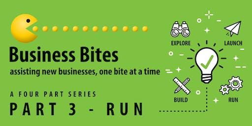 Business Bites Workshop 3 - Run