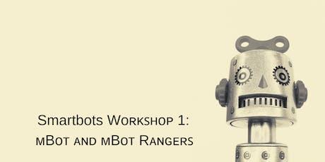 Smartbots Workshop 1: mBot and mBot rangers tickets