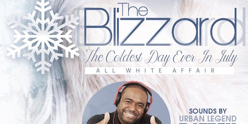 "THE BLIZZARD "" ALL WHITE AFFAIR"""