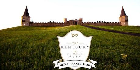 Day 3 - The Renaissance Feast & Masquerade Ball @ The Kentucky Castle tickets