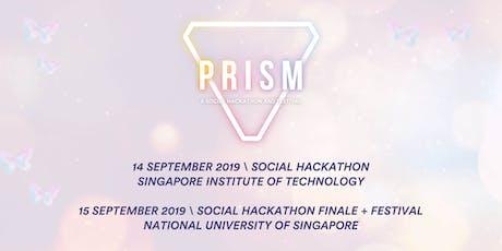 PRISM: A Social Hackathon and Festival tickets