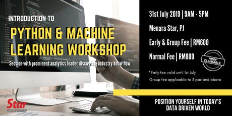 Introduction to Python & Machine Learning Workshop  tickets