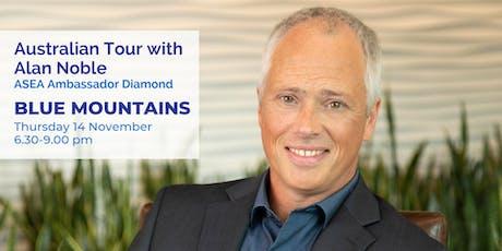 Alan Noble Blue Mountains Thursday 14 Nov 6.30-9pm tickets