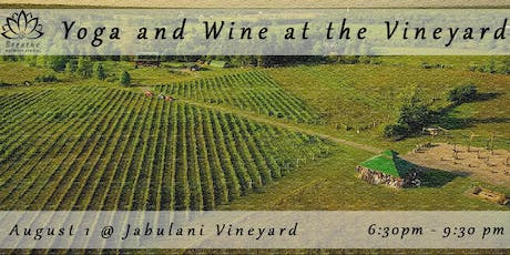 Yoga & Wine @ the Vineyard tickets