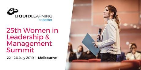 25th Women in Leadership & Management Summit tickets