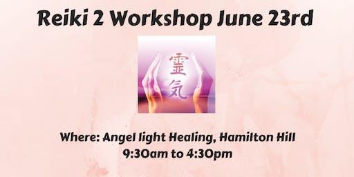 Reiki 2 Workshop, Sunday 23rd June
