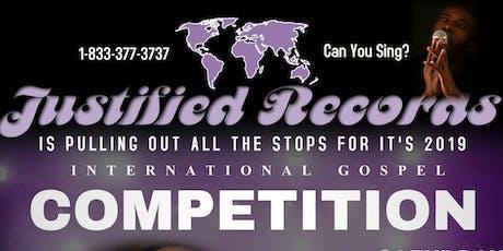 International Gospel Competition tickets