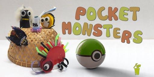 Pocket Monsters Children's Eco-Art Workshop