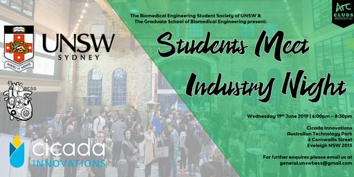 GSBME & BESS Industry and Thesis Poster Night  - Student & Alumni