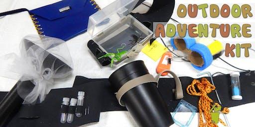 Outdoor Adventure Kit Children's Eco-Art Workshop