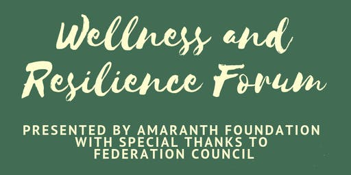 Wellness and Resilience Forum - Oaklands