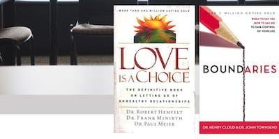 Boundaries & Love is a Choice book study