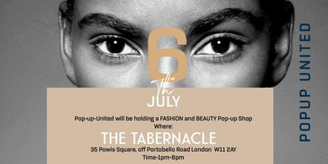 Pop-Up United presents Fashion & Beauty tickets