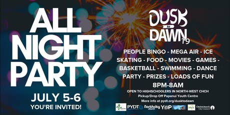 Dusk to Dawn '19 - All Night Party tickets