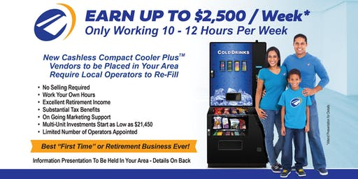 June 17 - Learn from Leading Industry Experts, How to Succeed with Your Own Compact Cooler Plus™ Business