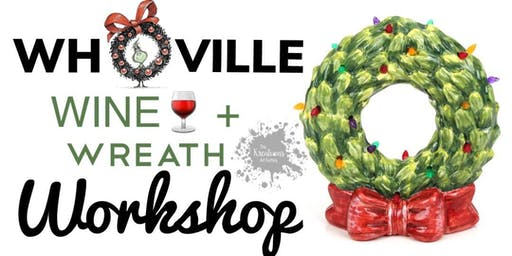 Wine+Wreath Painting Workshop