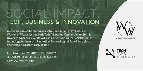 Social Impact: Tech, Business & Innovation billets