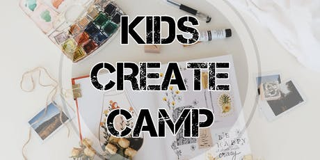 Kids Create Camp tickets